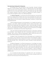 Examples Of Descriptive Essay About A Place Descriptive Essay Example Place Describe A Place Essay Example 7