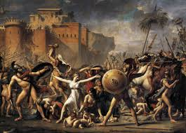 jacques louis david artist revolutionary and revolutionary artist  the intervention of the sabine women