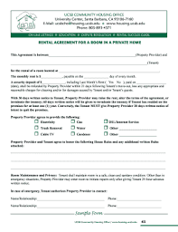 Residential room rental agreement form sample. 60 Printable Room Rental Agreement Forms And Templates Fillable Samples In Pdf Word To Download Pdffiller
