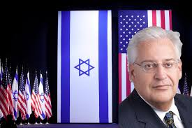 Image result for US ambassador David Friedman