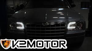 K2MOTOR INSTALLATION VIDEO: 2005-2010 CHRYSLER 300 LED PROJECTOR ...