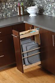 dura supreme s pull out cabinet for tray storage is perfect for cookie sheets pizza
