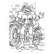 Kleurplaat Ninja Turtles 997