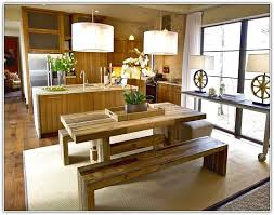 picnic style kitchen table home design ideas with picnic bench style kitchen table