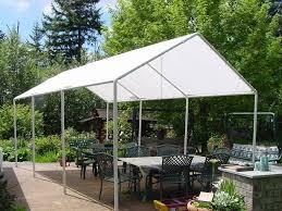 diy outdoor canopy frame 22 easy diy sun shade ideas for your backyard or patio