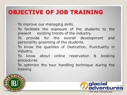 On Job Training Objectives On Job Training Objectives Rome Fontanacountryinn Com