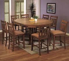 medium oak finish clic counter height dining set w options