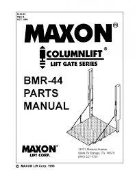maxon liftgate switch wiring diagram bmr series by the parts co maxon liftgate switch wiring diagram bmr series by the parts co issuu