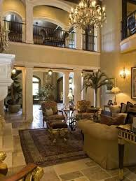Superb Living Room Of Country Music Star Alan Jacksonu0027s Tuscan Style Nashville  Estate Design Ideas