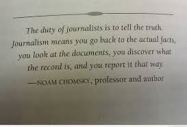 Image result for good journalism quotes