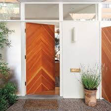 Wooden door designing Solid Wood Interior Design Ideas 50 Modern Front Door Designs
