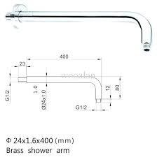 superb shower head pipe size contemporary shower head pipe size in wall shower arm wall mounted