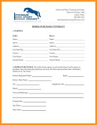 Equine Bill Of Sales Bill Of Sale Horse Template 32 Expert Equine Purchase And Agreement