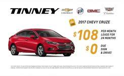 2018 nissan urvan. simple urvan 2017 chevy cruze special lease price at tinney automotive youtube with  chevrolet rebates in 2018 nissan urvan