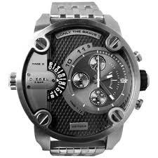 diesel men s watches shop the best deals for 2017 diesel men s dz7259 silver stainless steel quartz watch grey dial