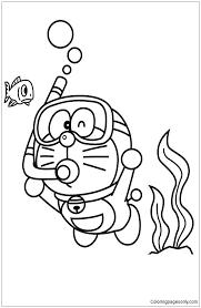 Doraemon coloring pages new printable. Doraemon On The Sea Coloring Pages Doraemon Coloring Pages Free Printable Coloring Pages Online