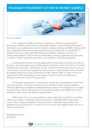 Letter Of Intent For Internal Medicine Residency Program