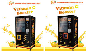 Oranfresh Vending Machine Cost Amazing Fully Intelligent Fresh Juice Vendor In Q Orange Internet And