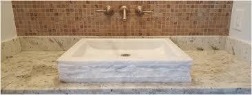 stone vessel bathroom sink luxury tashmart stone sinks travertine sinks bathroom vessel sinks