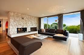 large white stone fireplace stacked