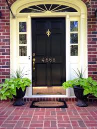 front door curb appealThe Collected Interior Add Curb Appeal w a Front Door Refresh