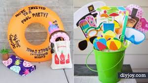 Diy Party Printables 31 Diy Pool Party Ideas To Cool Off Your Summer
