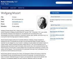 Employee Profile Sample Adding Faculty Staff Profiles Techweb Boston University