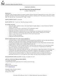 Paraprofessional Job Description For Resume Paraprofessional Resume Templates Download Now Example Social Work 15