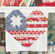 1077 best images about Quilting Tips &Bits on Pinterest | Quilt ... & I Heart America Quilt Block | Craftsy Adamdwight.com