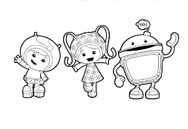 Nick Jr Team Umizoomi Coloring Pages Get Coloring Pages