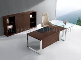 top office desks. Modern Office Desk With Glass Top,office Table Steel Foot Design,office Executive Top Desks Q
