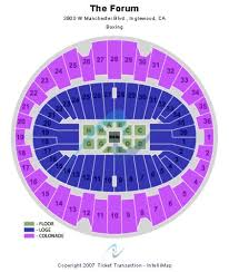 The Forum Seating Chart Boxing Boxing Forum Inglewood Slubne Suknie Info