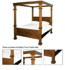 Boston King Size Four Poster Bed Buy Four Poster Bed Product on