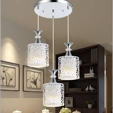 3 Lights Modern Petal Ceiling Light Led Pendant Lamp Dining Room Chandelier