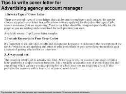 How To Write A Cover Letter For A Copywriting Job Advertising Cover Letter Samples Magdalene Project Org
