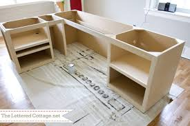 creative of home office guest bedroom reveal the lettered cottage within diy office desk plans