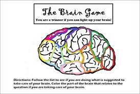 Red Ribbon Week Healthy Brain Awareness Activity Game: Just Say No ...