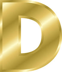 D D Item Template Letter D Capital Free Vector Graphic On Pixabay