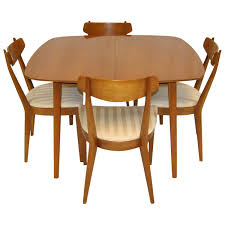 midcentury modern dining set by kipp stewart for drexel sun