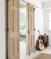 diy sliding rolling barn door style doors from crisp interiors via country living
