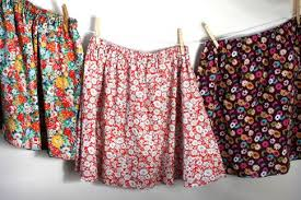 Simple Skirt Pattern Awesome Simple Skirt Free Pattern Robert Kaufman Fabric Company