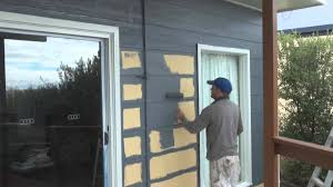 painting hardiplank har plank painting exterior wall boards or siding