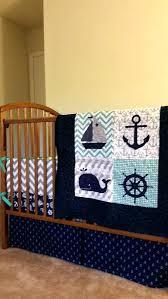 nautical crib set nautical baby boy quilt custom baby bedding by baby boy quilt crib bedding