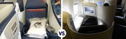 Transatlantic Business Class Battle Delta 777 200 Vs Air