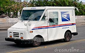 postal truck seat royalty stock images image 5979849