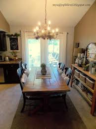 My Ugly Splitlevel Dining Room Finally Dining Room Ideas - Split level house interior
