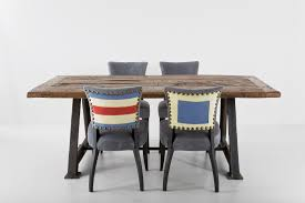 Tavoli Da Pranzo In Legno Design : Tavolo da pranzo legno e acciaio triseb