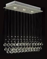 modern chandelier rain drop lighting crystal ball fixture pendant ceiling lamp h39 x w25 x depth 10 3 lights
