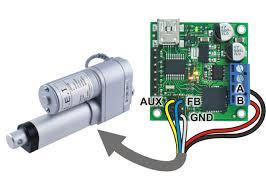 pololu jrk 21v3 usb motor controller feedback 3amp pololu jrk 21v3 usb motor controller and a line