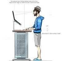 precious standing desk ergonomics images ergonomic chair diagram vs electric height adjule stand up wor